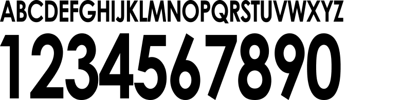 オリジナルフォント06型