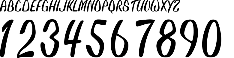 オリジナルフォント04型