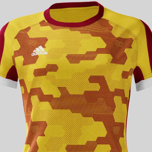 ハンドボール ゲームシャツ CAMO ウィメンズ(BQ7180-camo)
