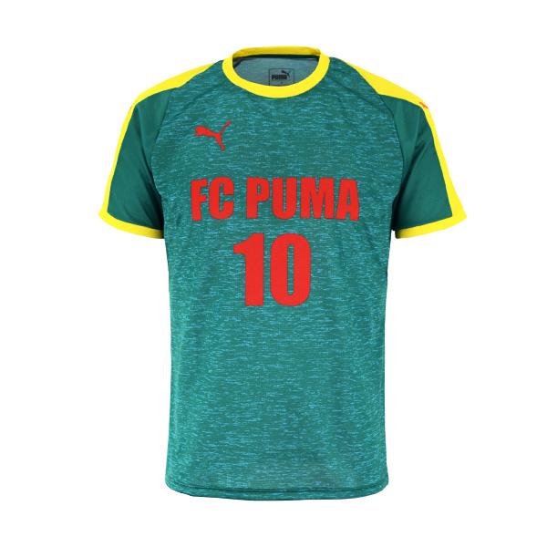 PUMA TRIBES HEATHER PATTERN ゲームシャツ(921050)