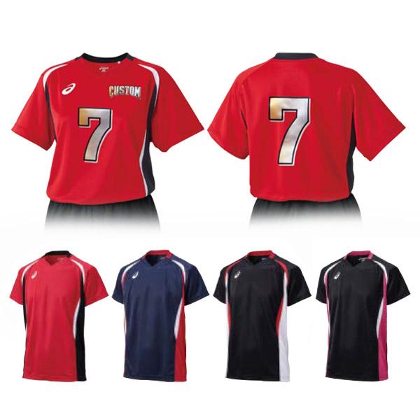 らくらくチョイス バレーボール ゲームシャツHS(XW1325)