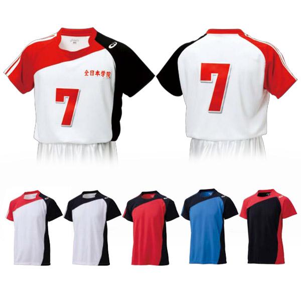らくらくチョイス バレーボール ゲームシャツHS(XW1321)