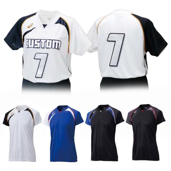 らくらくチョイス バレーボール ゲームシャツHS(XW1318)