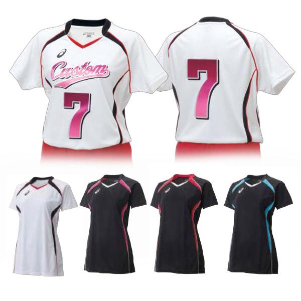 らくらくチョイス バレーボール W'sゲームシャツHS ウィメンズ(XW1317)